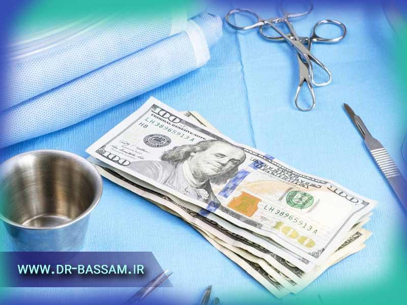هزینه جراحی بینی