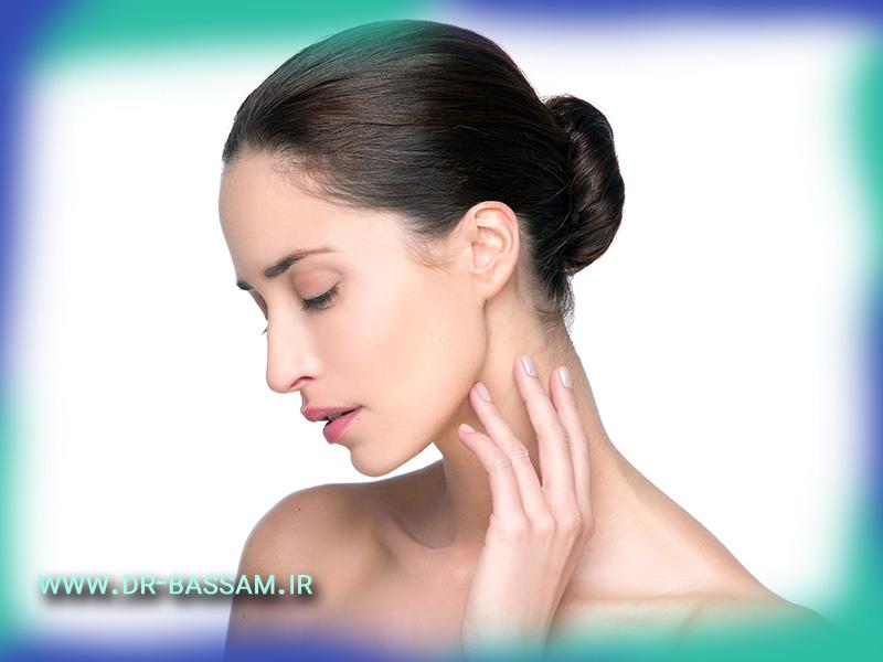 آیا می توان افتادگی نوک بینی را درمان کرد؟